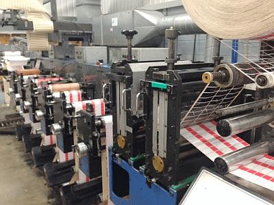 Flexo labels press operator poor performance